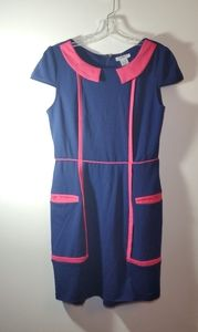 Esley Blue and Pink Dress